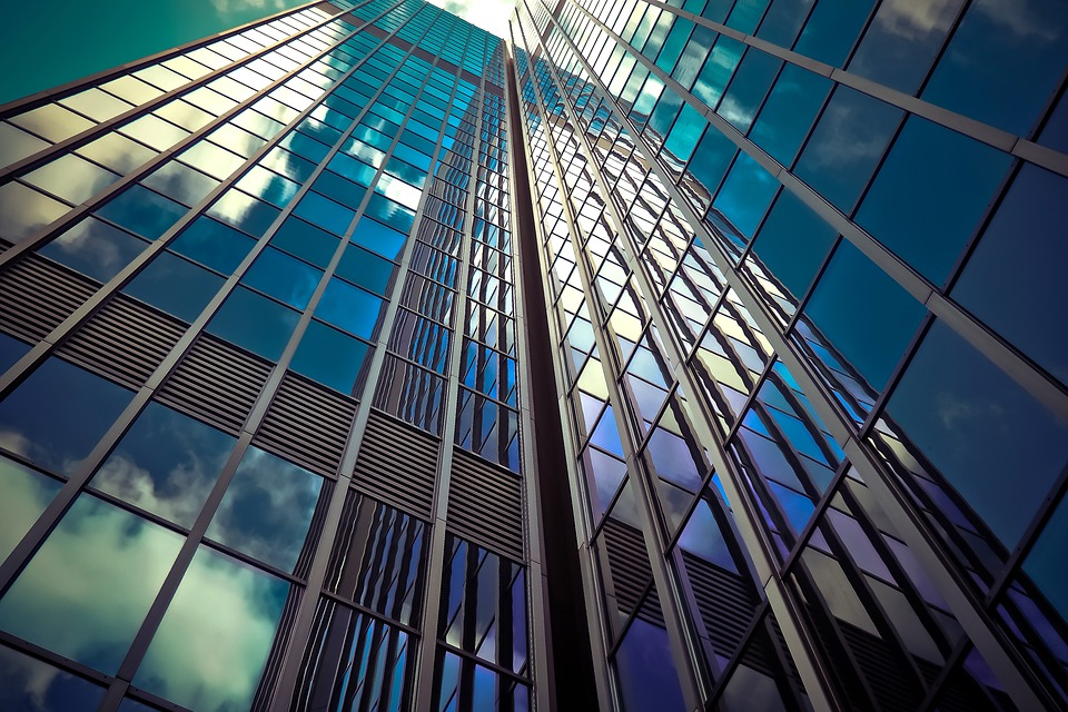 image of a high-rise office building